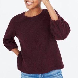 Madewell Purple Sweater